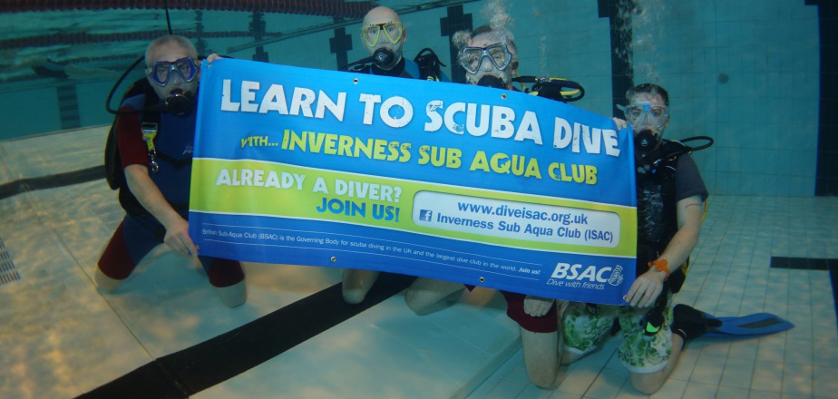 Learn to dive with Inverness Sub Aqua Club